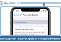 iForgot Apple ID – Recover Apple ID and Apple ID Password